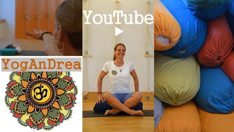 Andrea Mehnert-Lange YoutTube Yoga Kurse